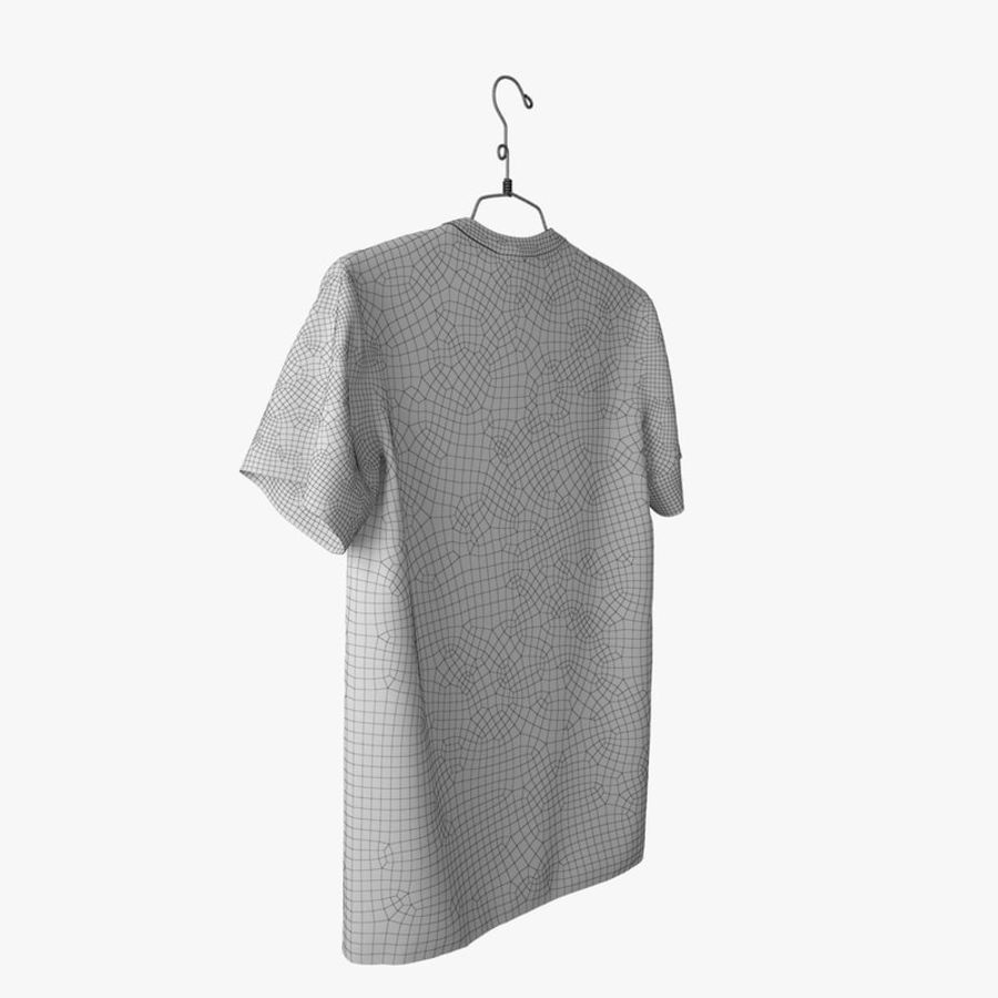 Koszulka T-shirt Nike Air Force 1 royalty-free 3d model - Preview no. 16