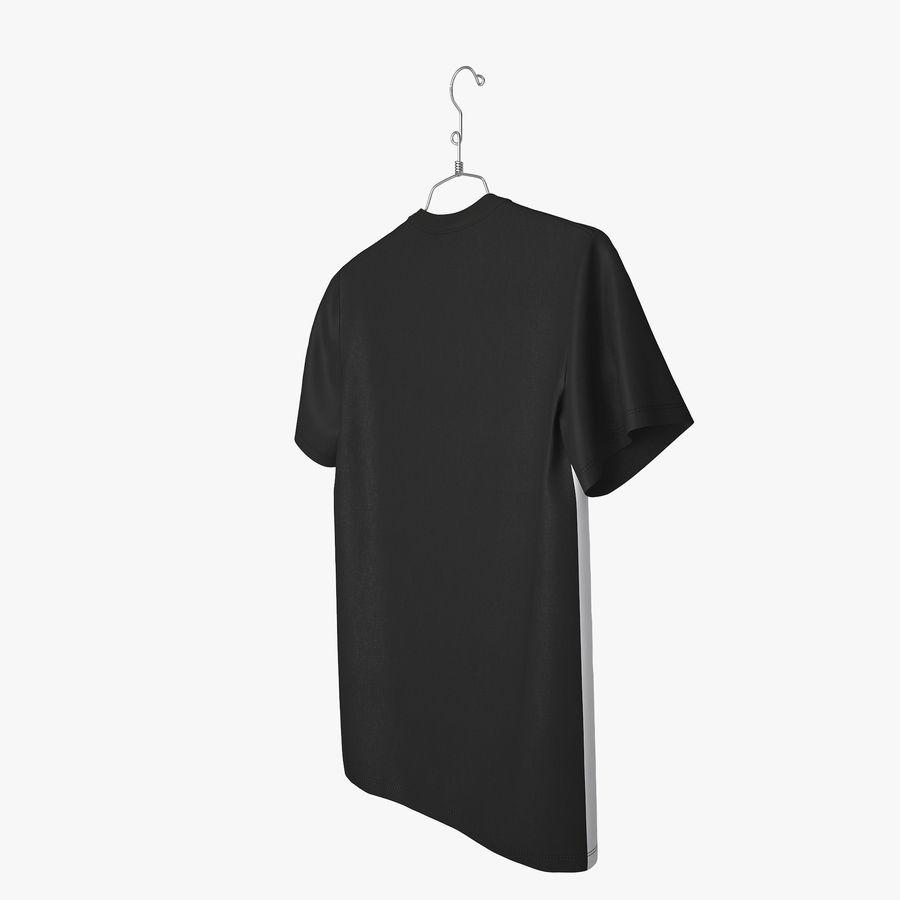 Koszulka T-shirt Nike Air Force 1 royalty-free 3d model - Preview no. 5