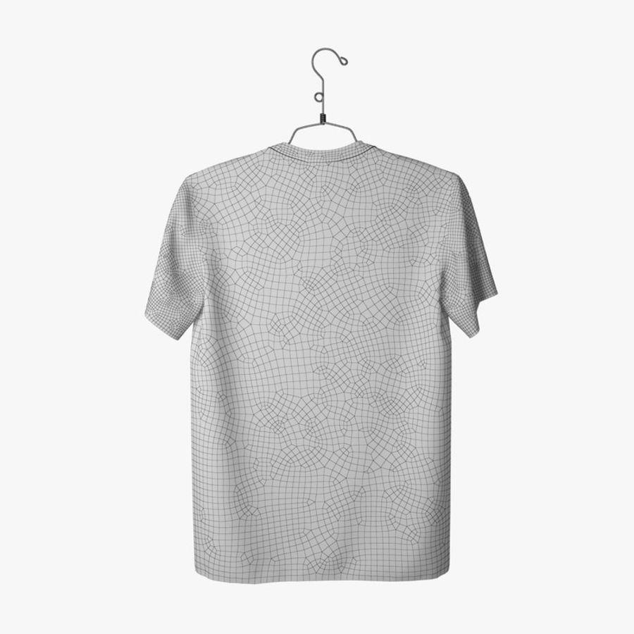 Koszulka T-shirt Nike Air Force 1 royalty-free 3d model - Preview no. 15