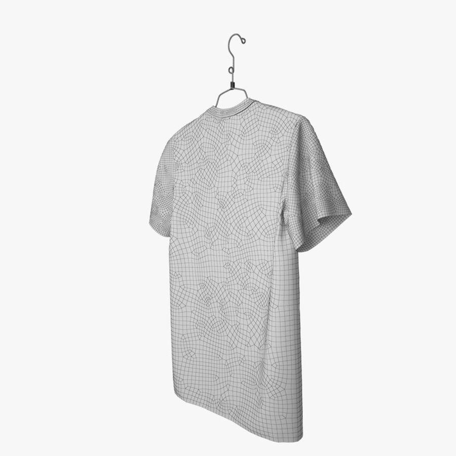 Koszulka T-shirt Nike Air Force 1 royalty-free 3d model - Preview no. 14