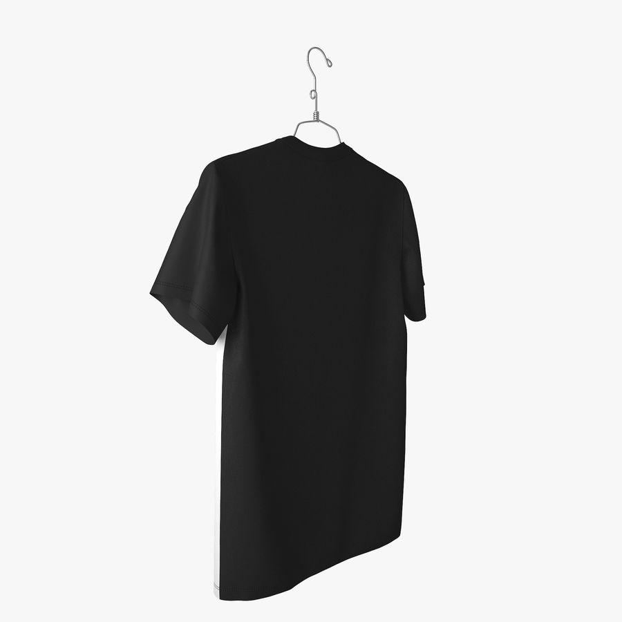 Koszulka T-shirt Nike Air Force 1 royalty-free 3d model - Preview no. 7