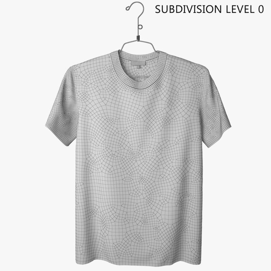 Koszulka T-shirt Nike Air Force 1 royalty-free 3d model - Preview no. 9