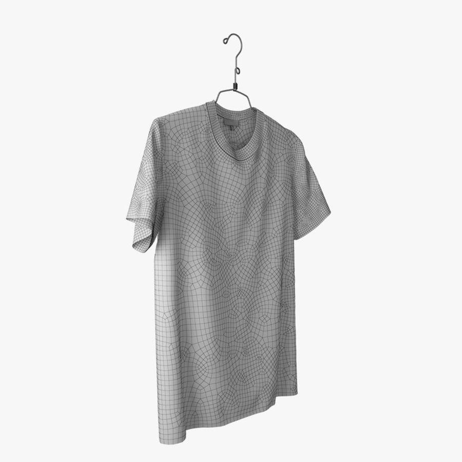 Koszulka T-shirt Nike Air Force 1 royalty-free 3d model - Preview no. 13