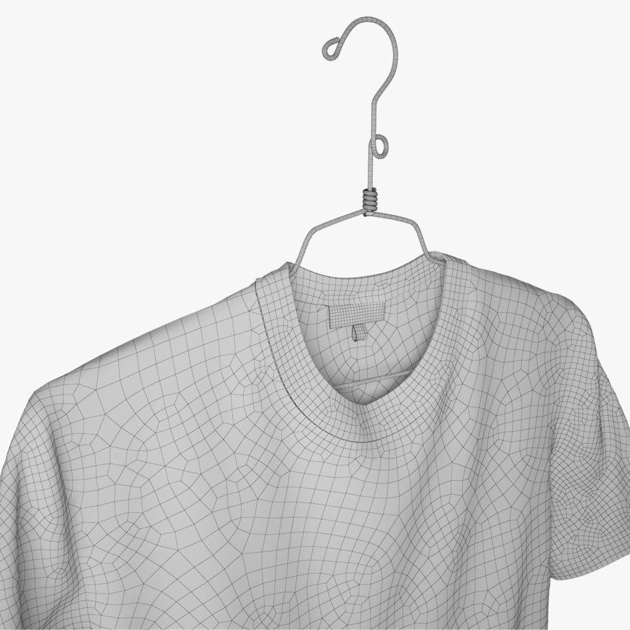 Koszulka T-shirt Nike Air Force 1 royalty-free 3d model - Preview no. 11
