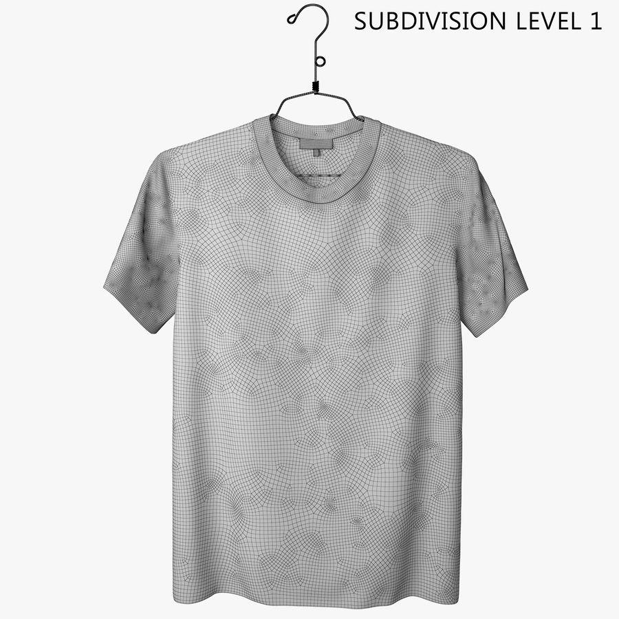 Koszulka T-shirt Nike Air Force 1 royalty-free 3d model - Preview no. 10