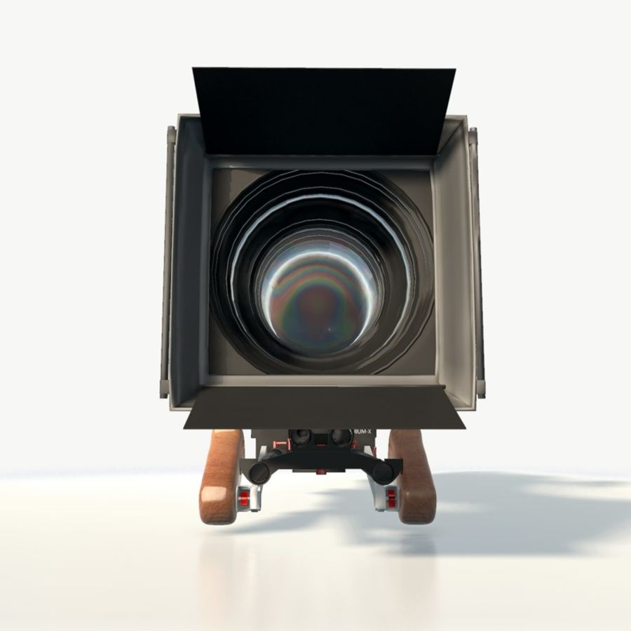 Camera RED epic low poly royalty-free 3d model - Preview no. 8