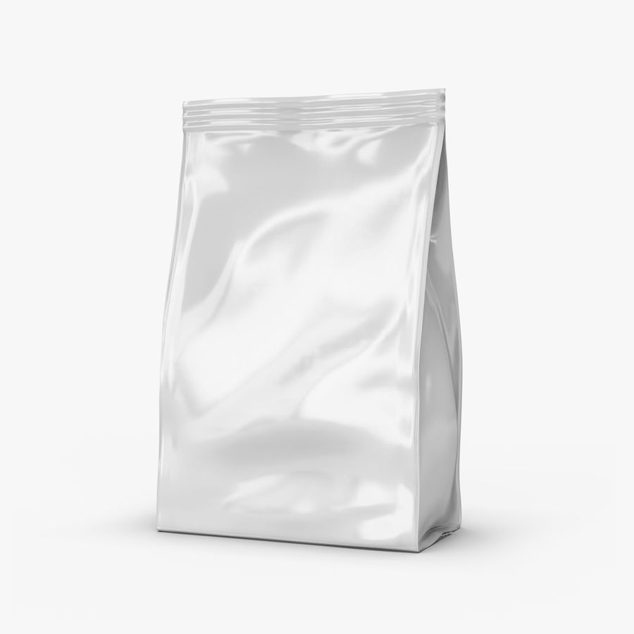 Plastic Bag royalty-free 3d model - Preview no. 1