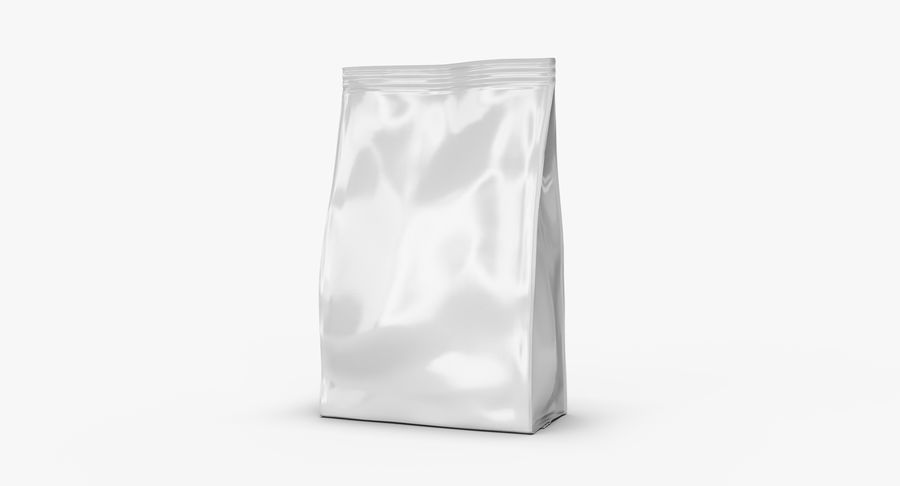 Plastic Bag royalty-free 3d model - Preview no. 4