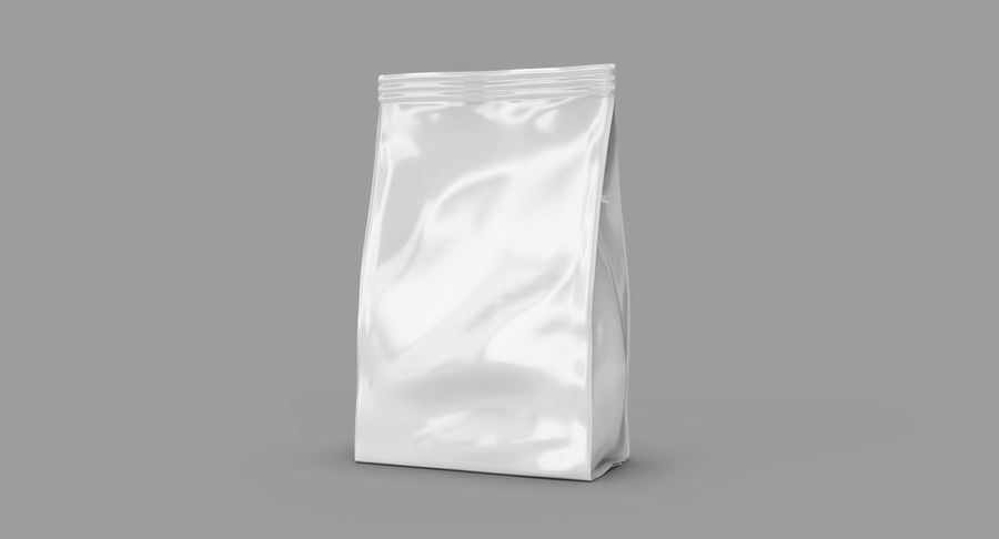 Plastic Bag royalty-free 3d model - Preview no. 3