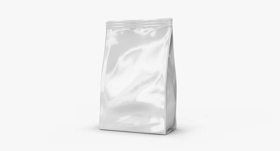 Plastic Bag royalty-free 3d model - Preview no. 2