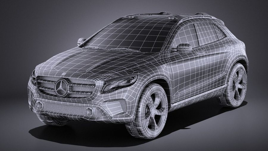 Image result for 3d suv concept mercedes mesh