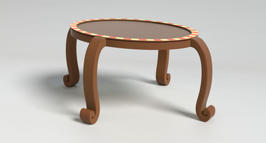 Cartoon Furniture Set 3 royalty-free 3d model - Preview no. 52