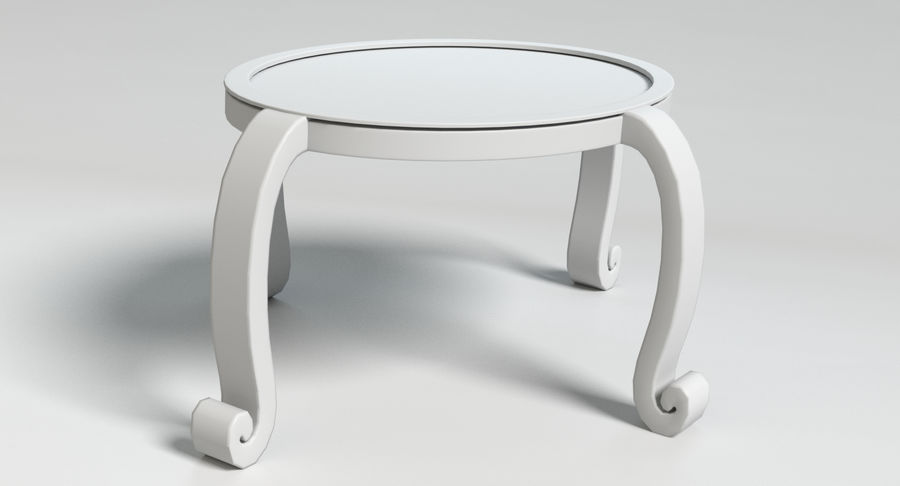 Cartoon Furniture Set 3 royalty-free 3d model - Preview no. 54