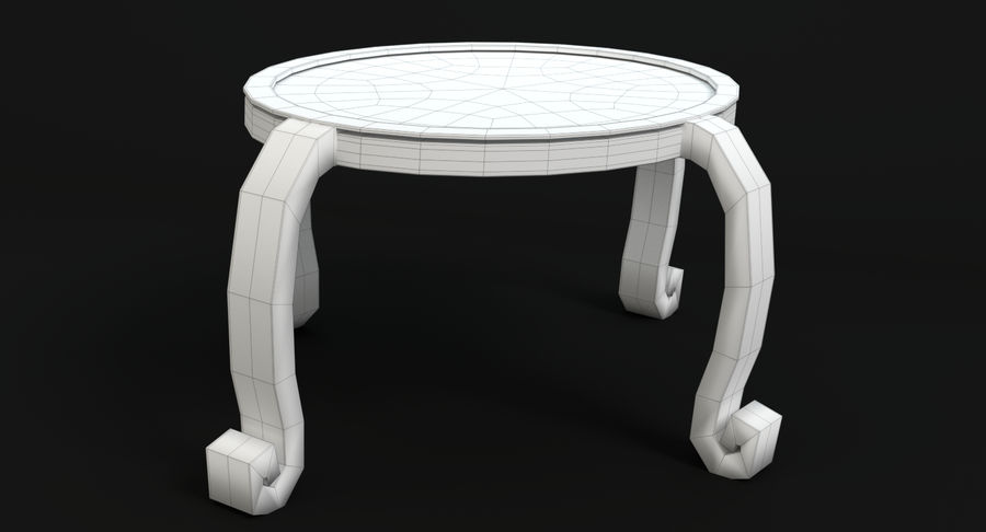 Cartoon Furniture Set 3 royalty-free 3d model - Preview no. 55