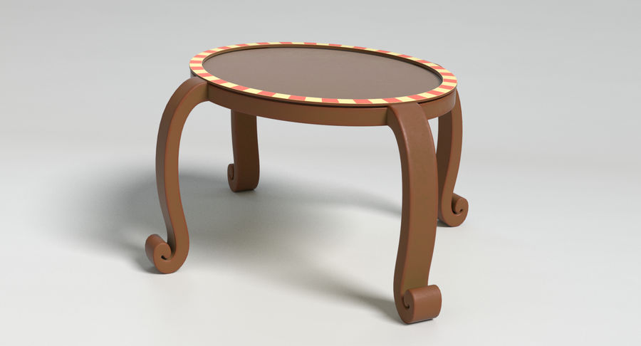 Cartoon Furniture Set 3 royalty-free 3d model - Preview no. 49