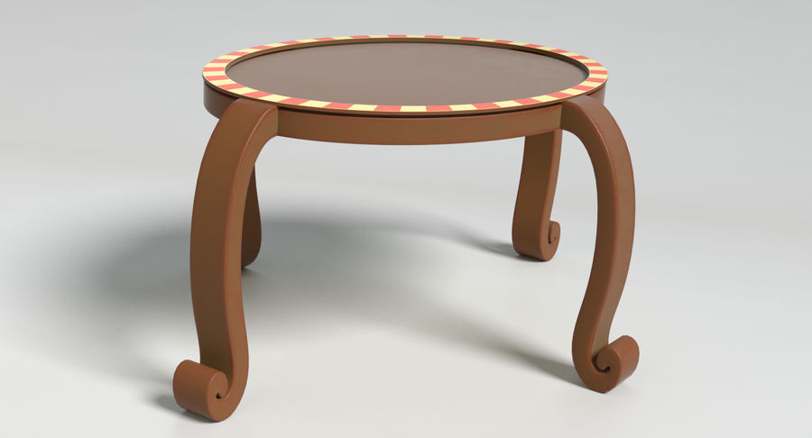 Cartoon Furniture Set 3 royalty-free 3d model - Preview no. 47