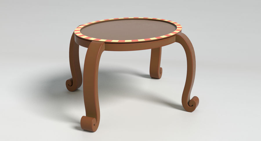 Cartoon Furniture Set 3 royalty-free 3d model - Preview no. 51