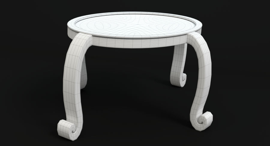 Cartoon Furniture Set 3 royalty-free 3d model - Preview no. 56