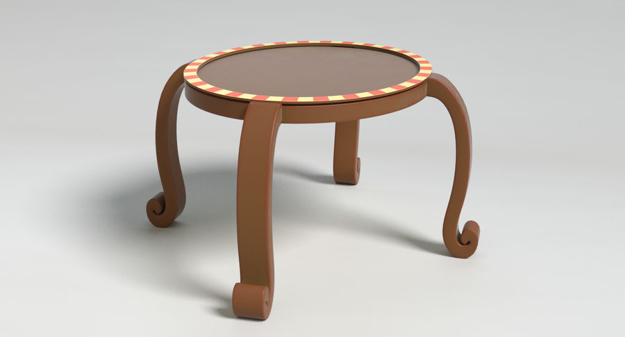 Cartoon Furniture Set 3 royalty-free 3d model - Preview no. 48