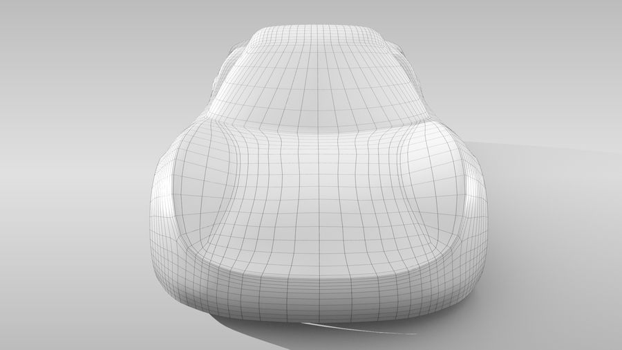 Car Base RR Layout Variant 1 royalty-free 3d model - Preview no. 14