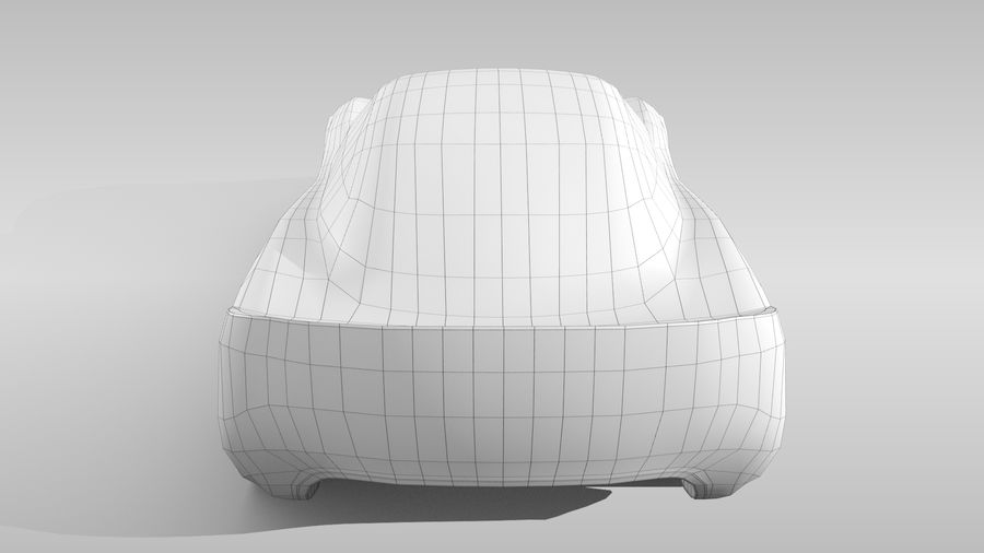 Car Base RR Layout Variant 1 royalty-free 3d model - Preview no. 18