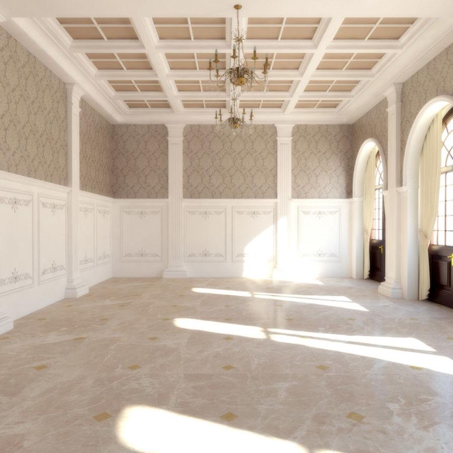 Classic living room 3D Model $19 - .max - Free3D