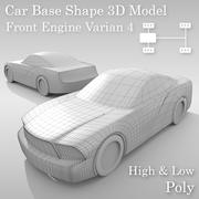 Variante 4 do Layout de Base de Carro 3d model