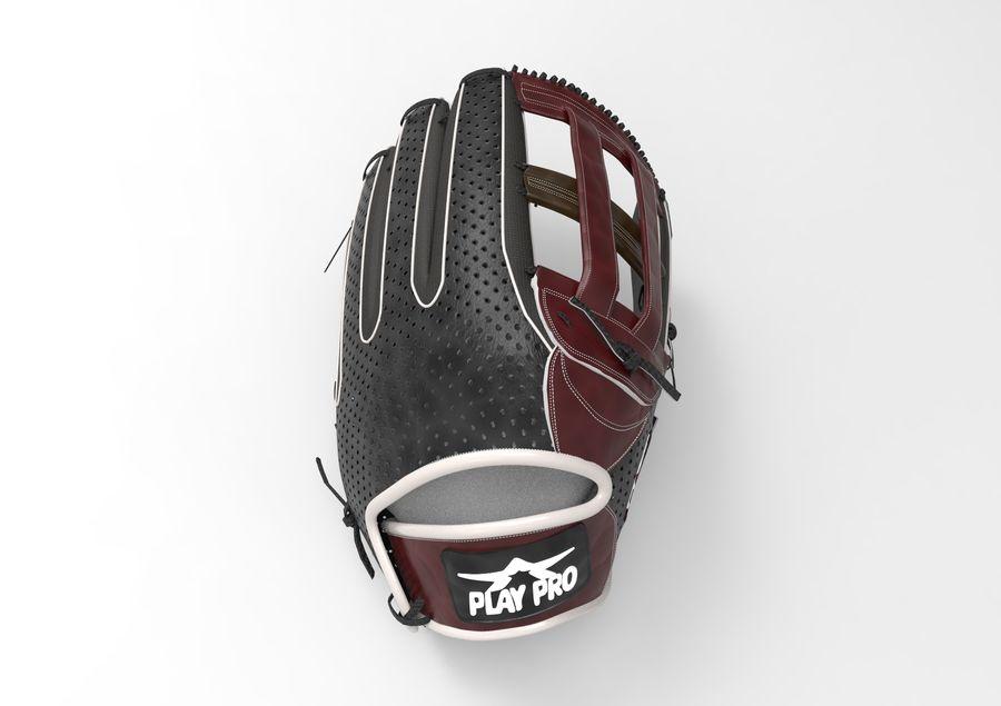 Gant de baseball royalty-free 3d model - Preview no. 7