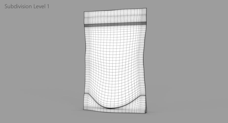 Stand Up Pouch v2 royalty-free 3d model - Preview no. 10