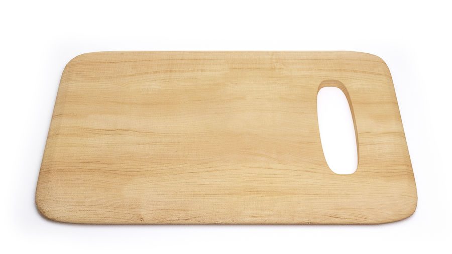 Wooden Cutting Board Collection - Set of 8 Different Models royalty-free 3d model - Preview no. 6