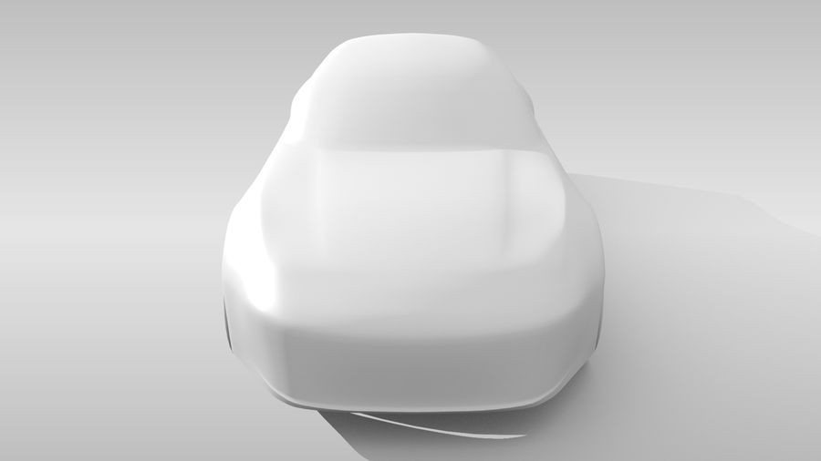 Variante di layout FR Base Car 3 royalty-free 3d model - Preview no. 16
