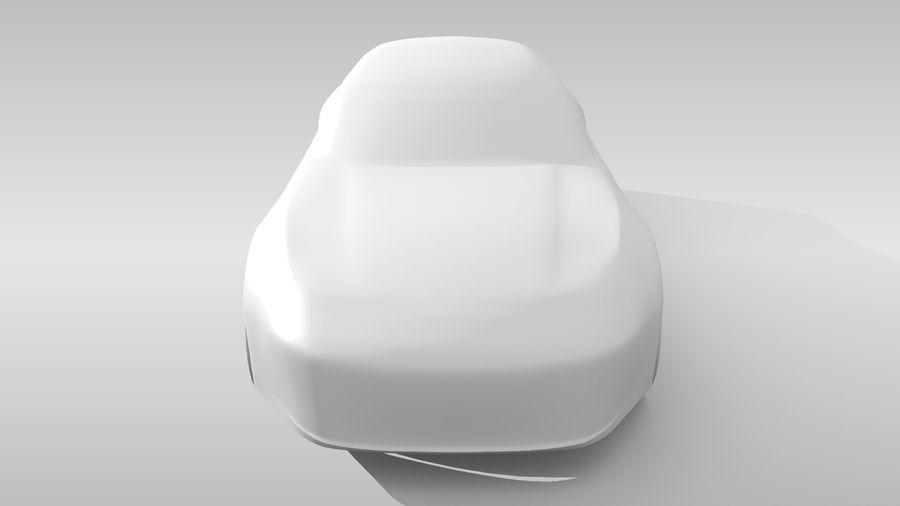 Base de coche FR Variante de diseño 3 royalty-free modelo 3d - Preview no. 16