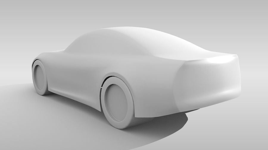 Variante di layout FR Base Car 3 royalty-free 3d model - Preview no. 7