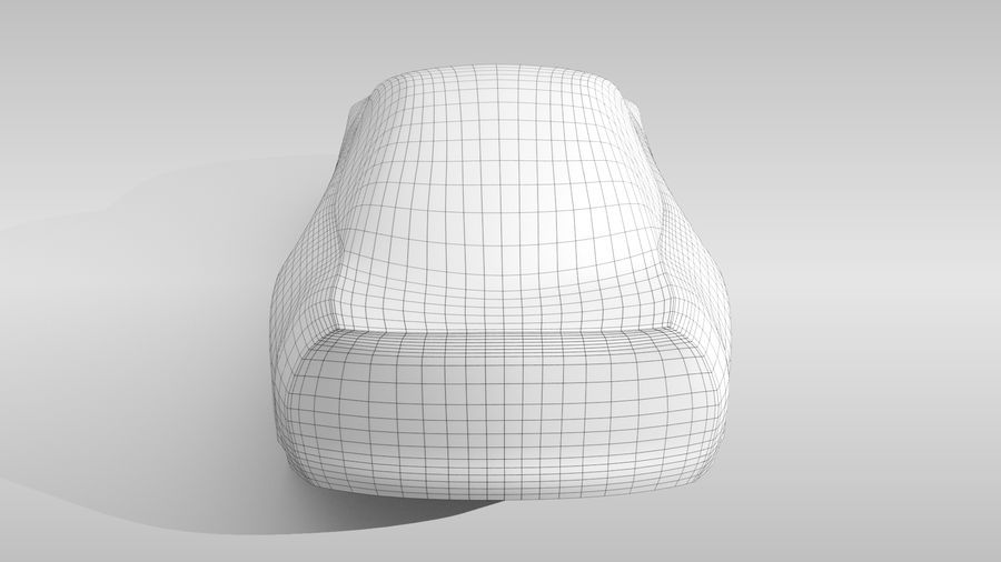 Variante di layout FR Base Car 3 royalty-free 3d model - Preview no. 17