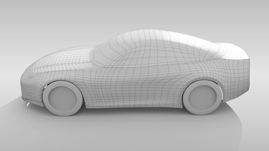 Variante di layout FR Base Car 3 royalty-free 3d model - Preview no. 8