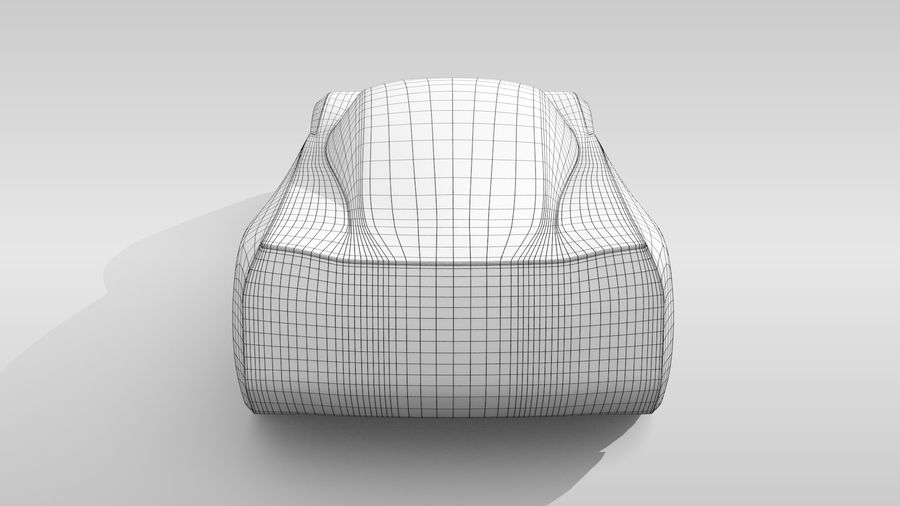 Variante di layout MR Base Car 2 royalty-free 3d model - Preview no. 17