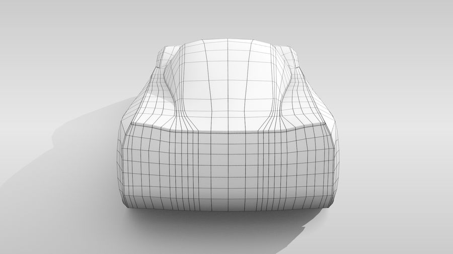 Variante di layout MR Base Car 2 royalty-free 3d model - Preview no. 18