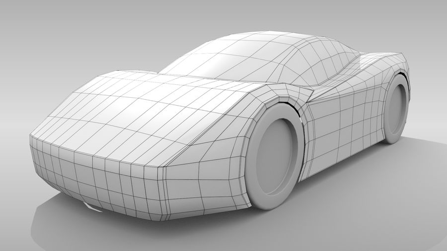 Variante di layout MR Base Car 2 royalty-free 3d model - Preview no. 3