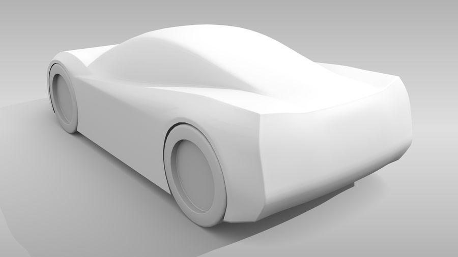 Variante di layout MR Base Car 2 royalty-free 3d model - Preview no. 7