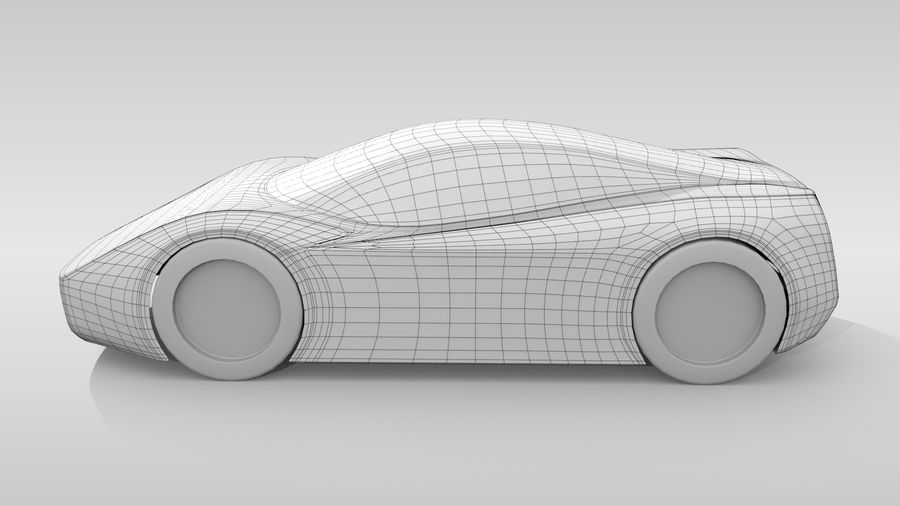 Variante di layout MR Base Car 2 royalty-free 3d model - Preview no. 8