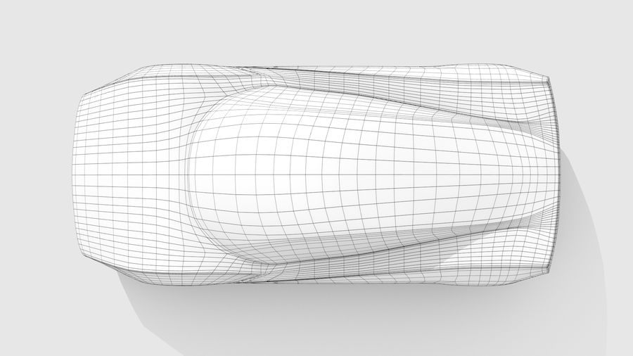 Variante di layout MR Base Car 2 royalty-free 3d model - Preview no. 11