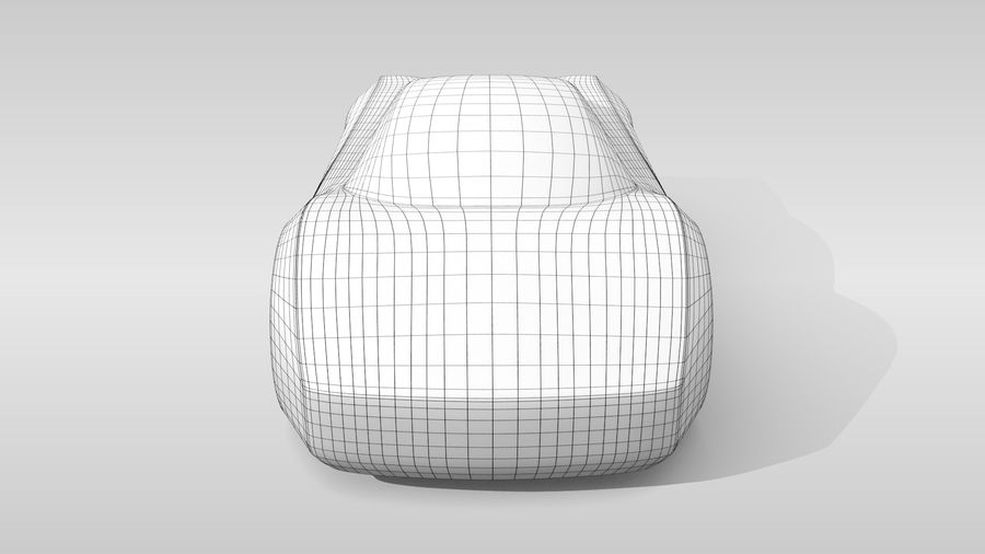 Variante di layout MR Base Car 2 royalty-free 3d model - Preview no. 14