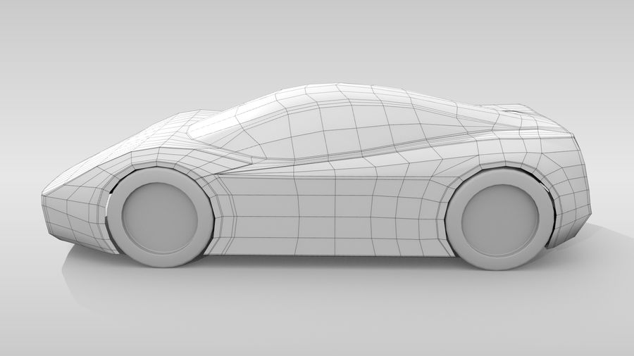 Variante di layout MR Base Car 2 royalty-free 3d model - Preview no. 9