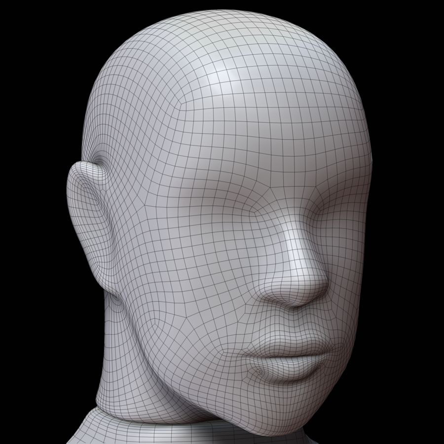 Mannequin man royalty-free 3d model - Preview no. 21