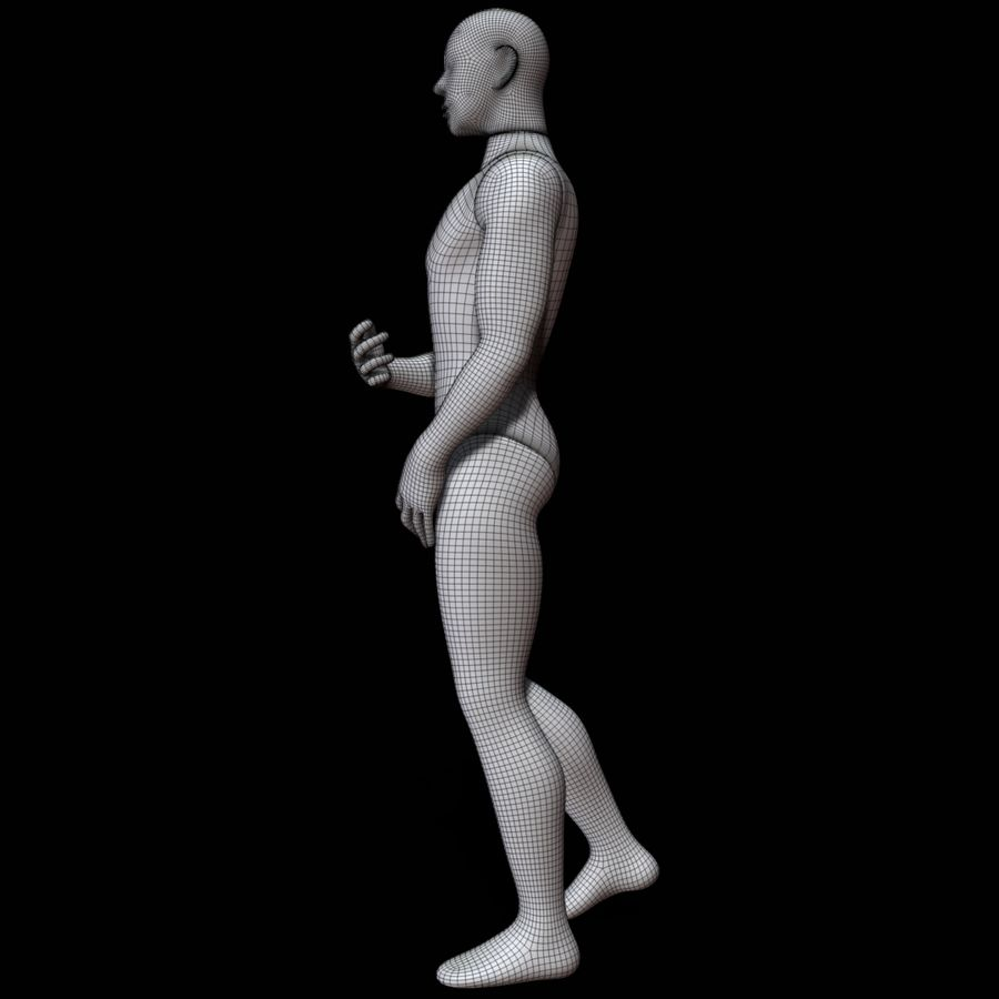 Mannequin man royalty-free 3d model - Preview no. 18