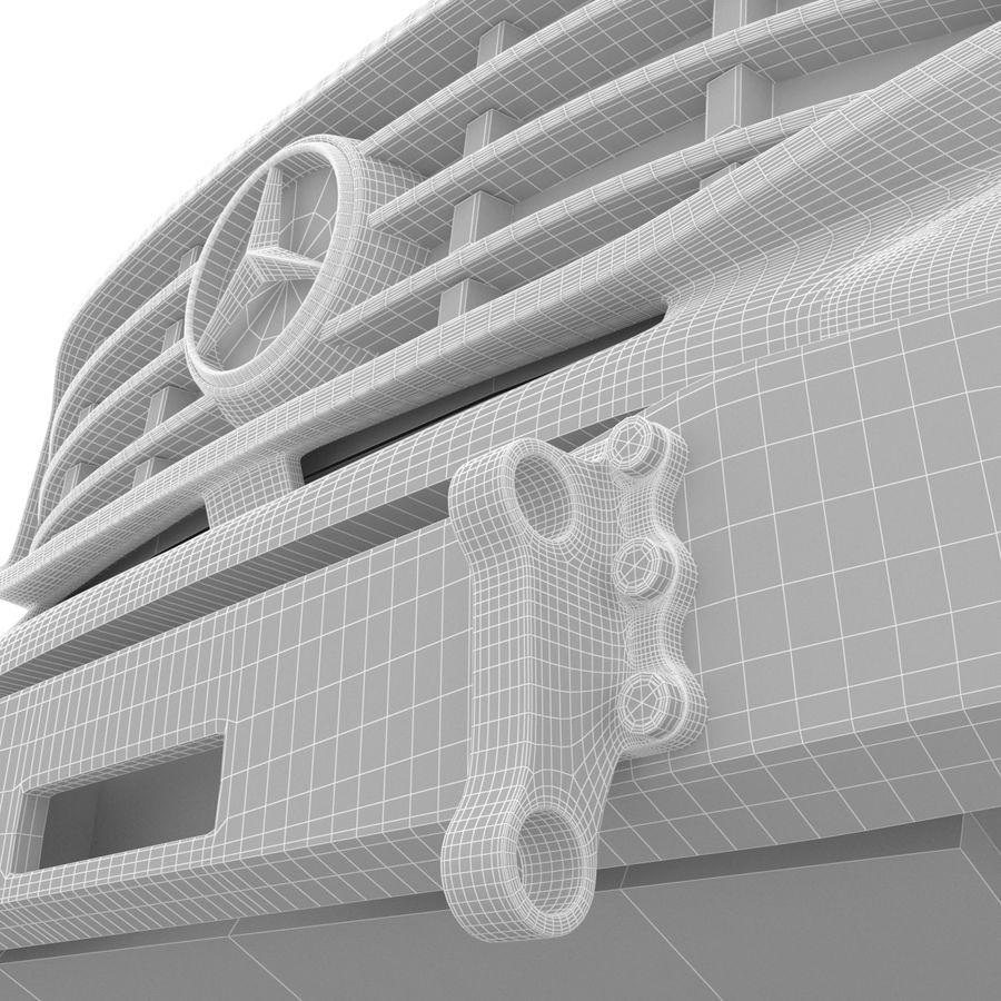Merecedes ZETROS 6x6 royalty-free 3d model - Preview no. 10
