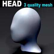 Head start character 3 mesh 3d model