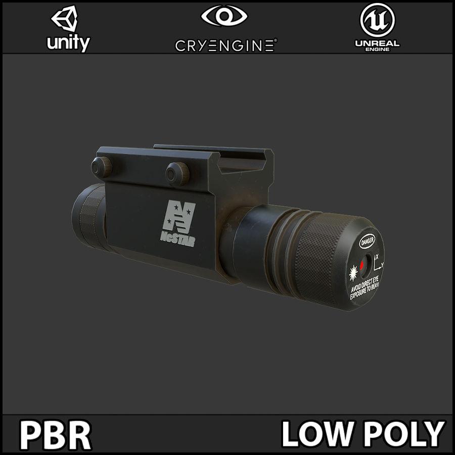 Arma Laser PBR Low Poly Modelo 3D $19 -  obj  fbx  3ds  blend - Free3D