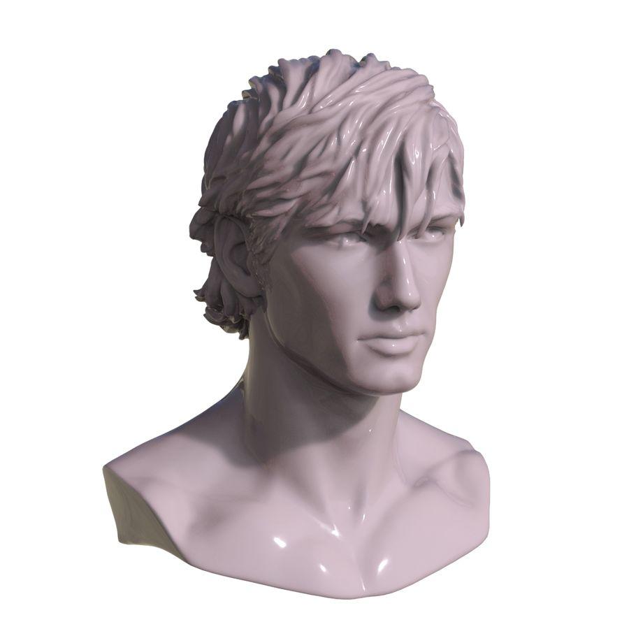 Atılan Alex Pettyfer royalty-free 3d model - Preview no. 3