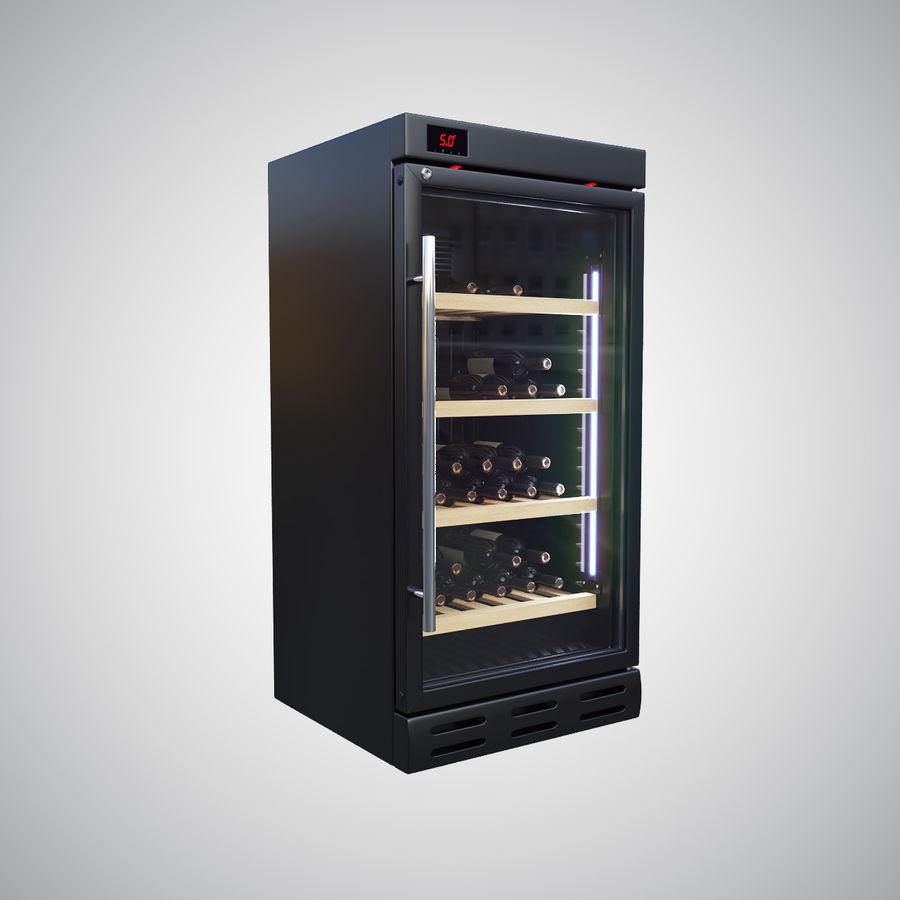 Wine Fridge royalty-free 3d model - Preview no. 1